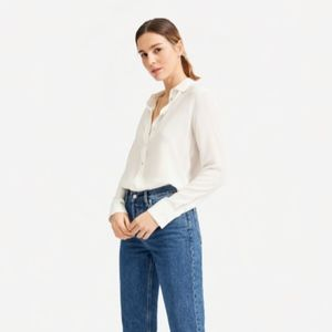 HOST PICKED Everlane Clean Silk Relaxed Shirt